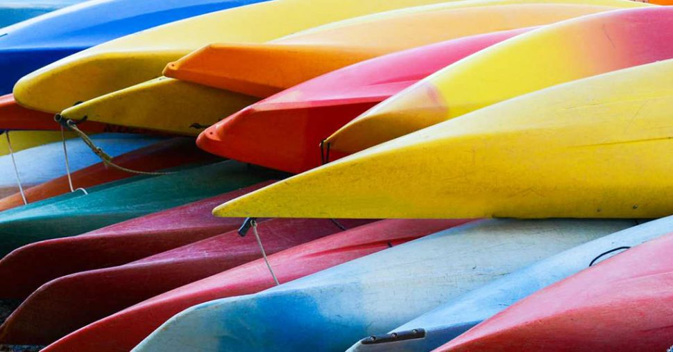 canoes kayaks