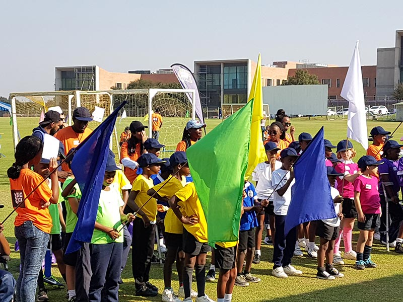 forest town school sports day