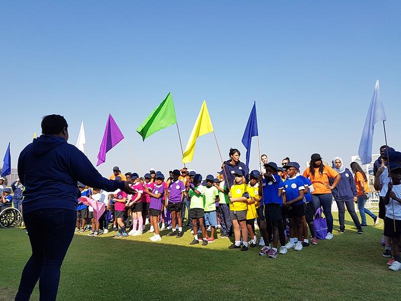 children's sport event