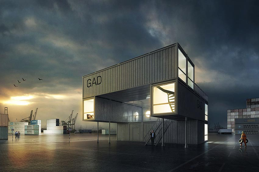 gad container art gallery