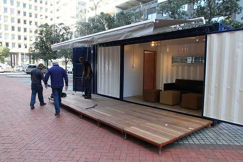 garage office conversion ideas - Container Rental Sales & Conversions