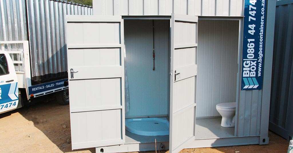 ablution facilities big box hire