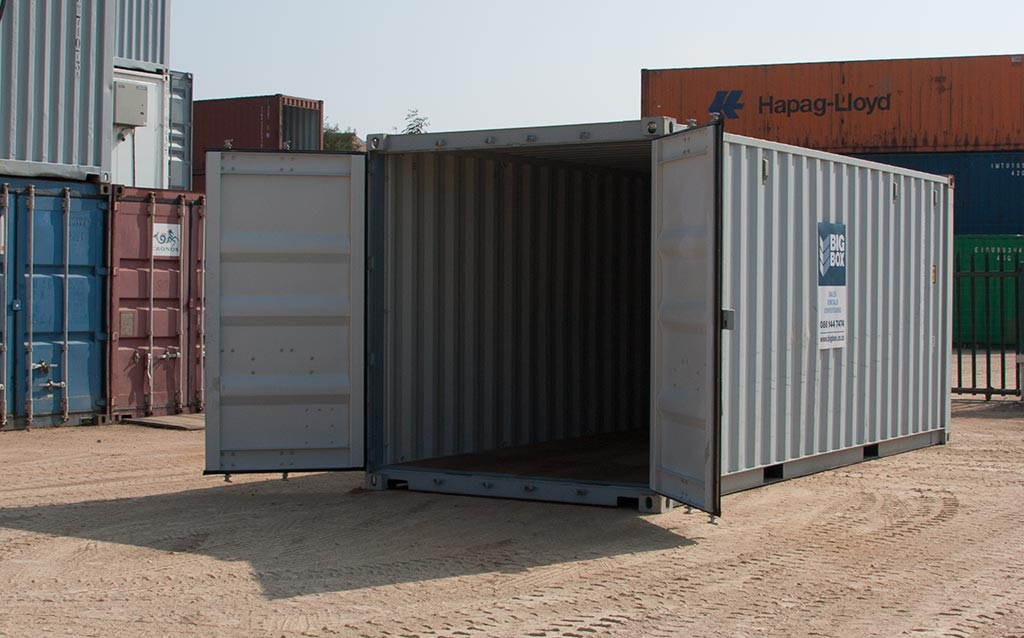 big box shipping containers
