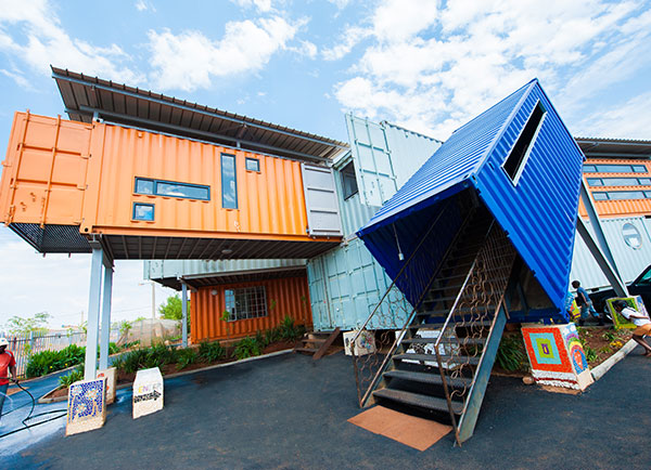 container conversions housing units
