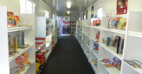 mandela day library project