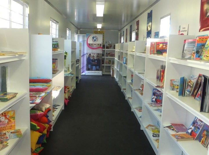 Containers and the Mandela Day Library Project