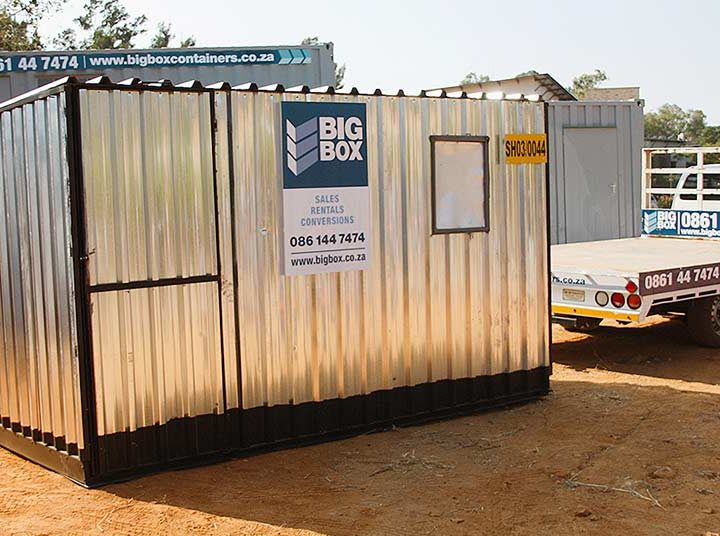 Affordable Ready-Made Construction Site Sheds