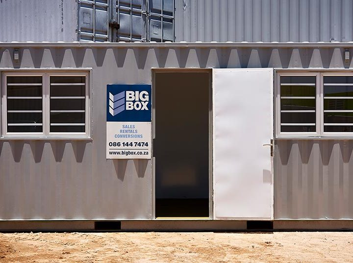 Combo Containers for Rent: Site Office and Storage Space in One