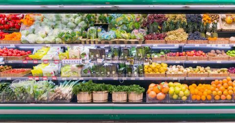 fresh produce storage refrigerated container