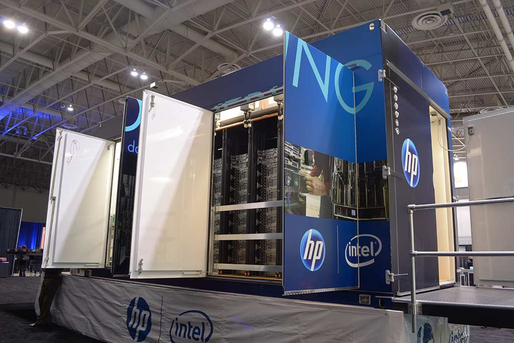 hp data centre center container