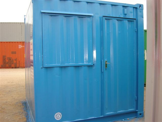 shipping container mini spaza