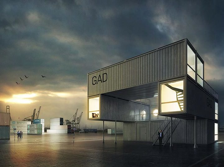 Affordable Art Spaces: Shipping Container Galleries