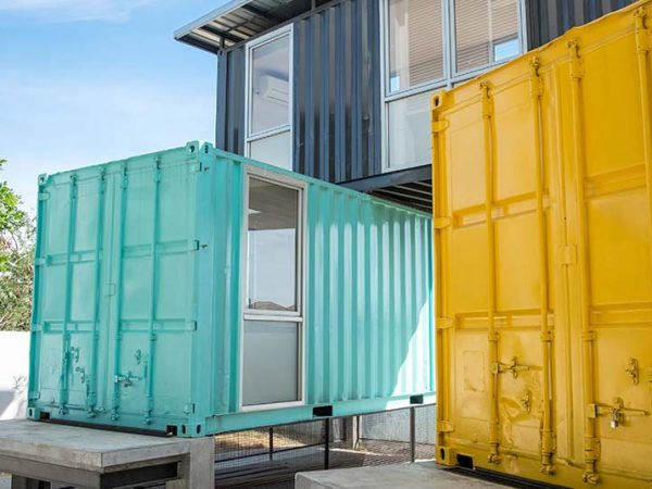 shipping container conversion