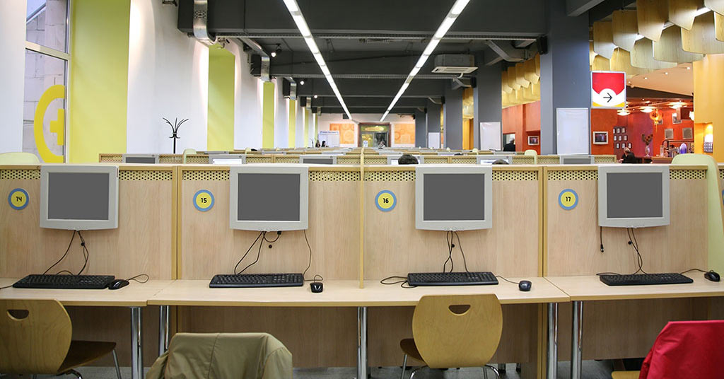 internet café container