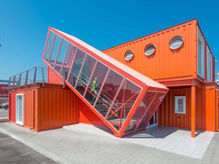 Shipping Container Offices Around the World