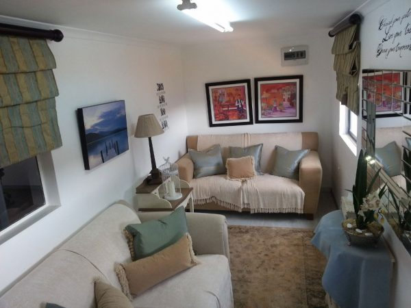 living room shipping container