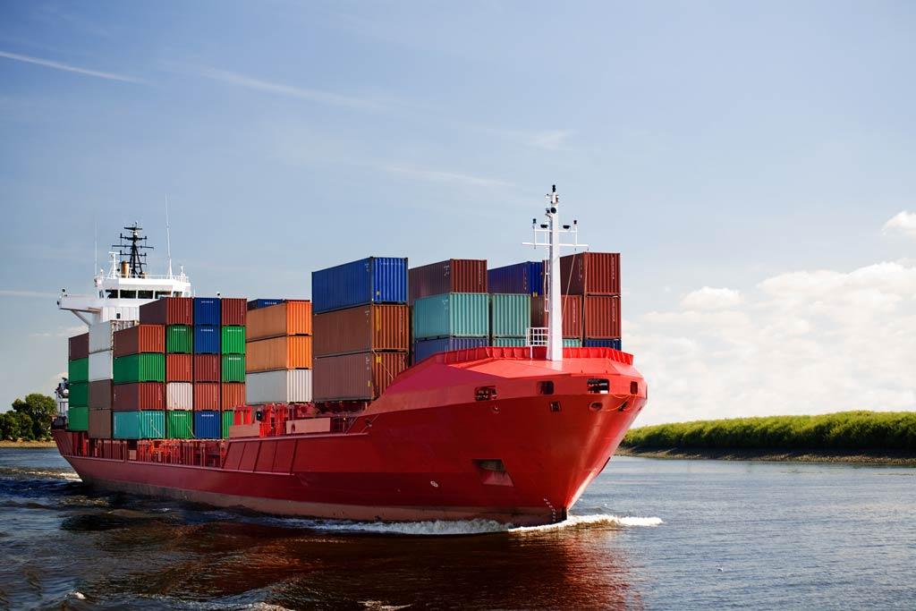 comtainert-ship