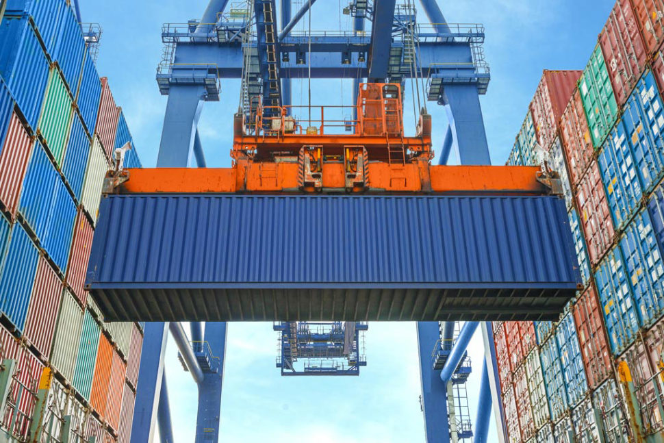 shipping container maintenance