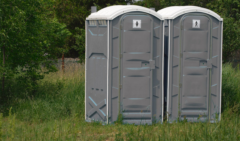 potable toilets events hire