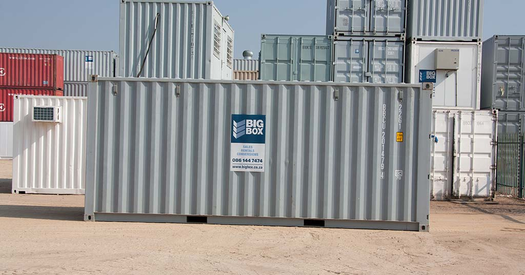 big box steel containers
