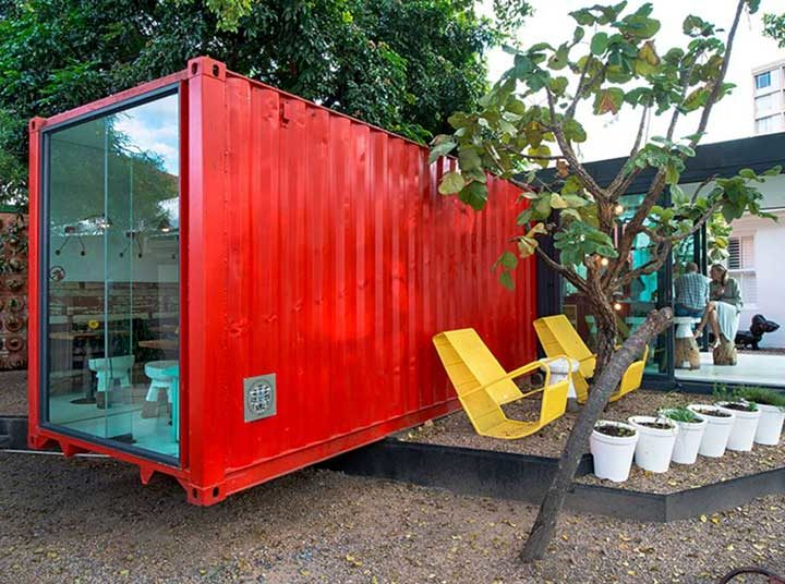 Container Coffee Shops Around the World