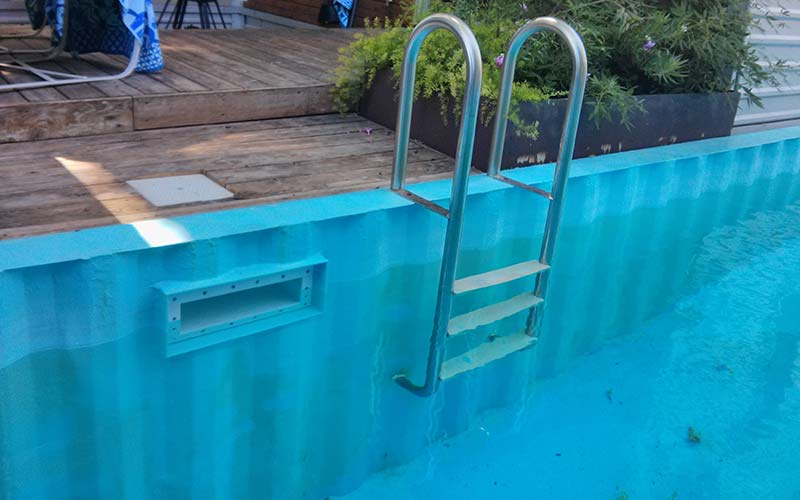 Shipping Container Pools Pros And Cons Big Box Containers