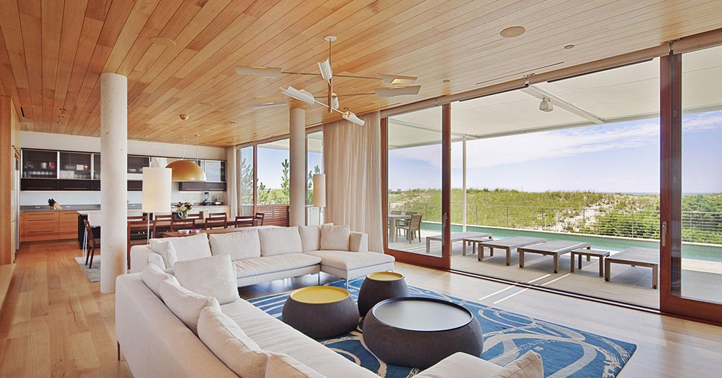 hamptons beach house shipping container mansion