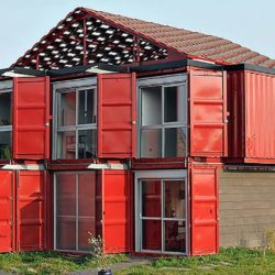 shipping container maison barn cargo units France
