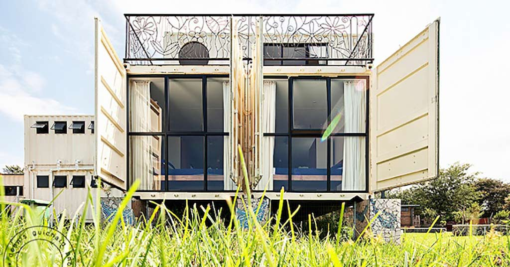 new jerusalem children's home shipping containers
