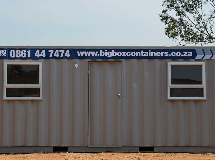 Rental of Converted Office Containers