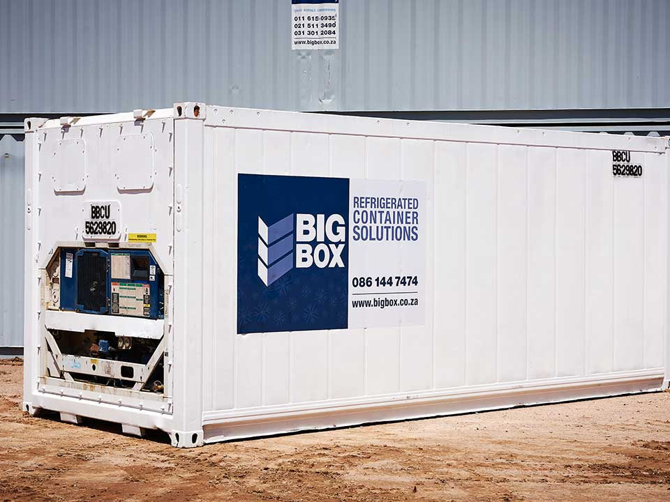 big box refrigerated container