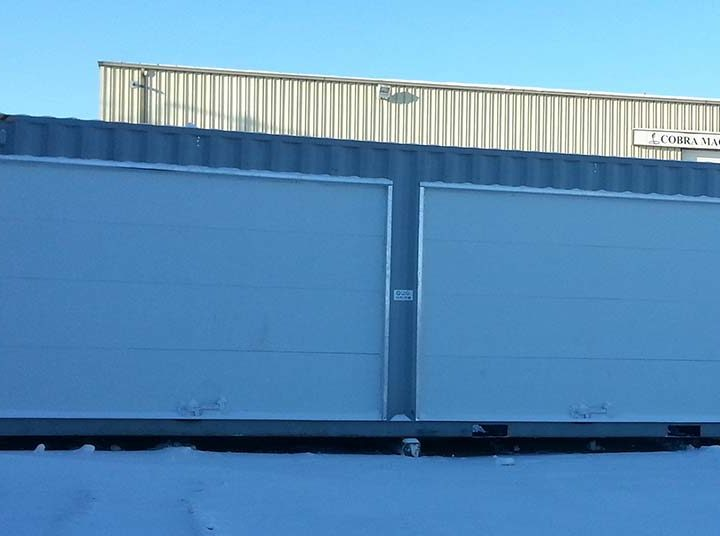 Another Innovative Idea: Instant Shipping Container Garages