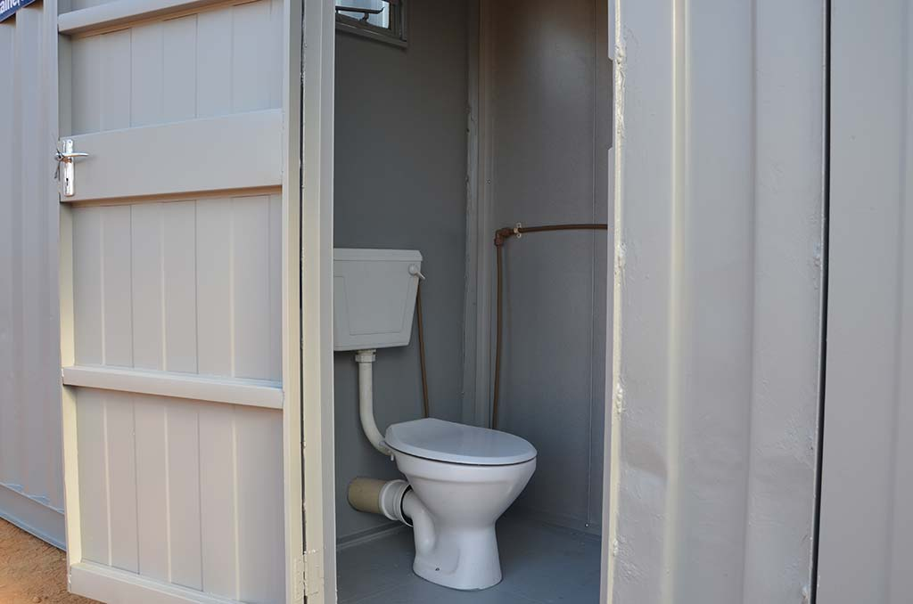 3 metre ablution container