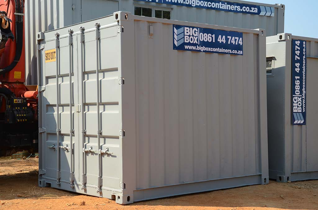 3 metre storage containers