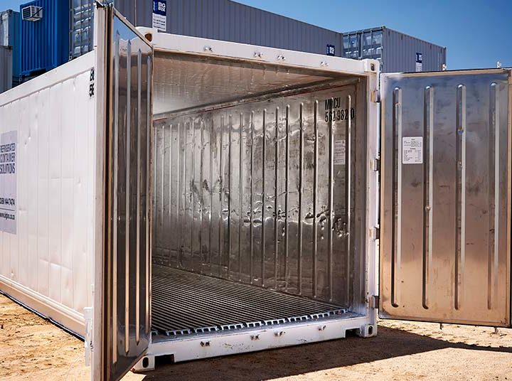 How to Pack a Refrigerated Container