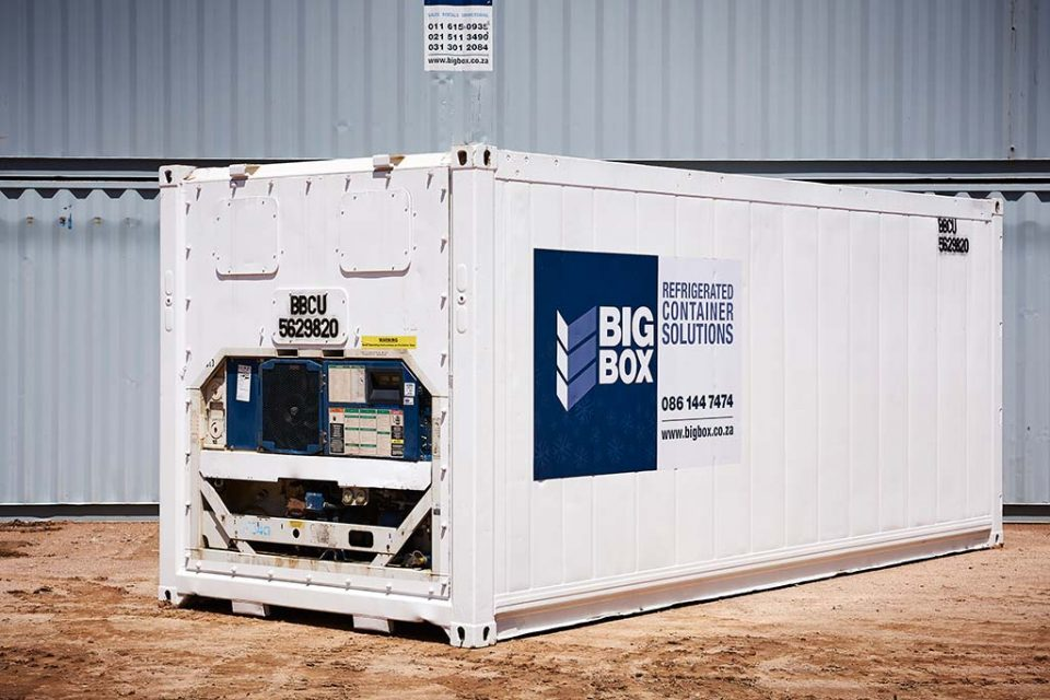 big box reefer cape town