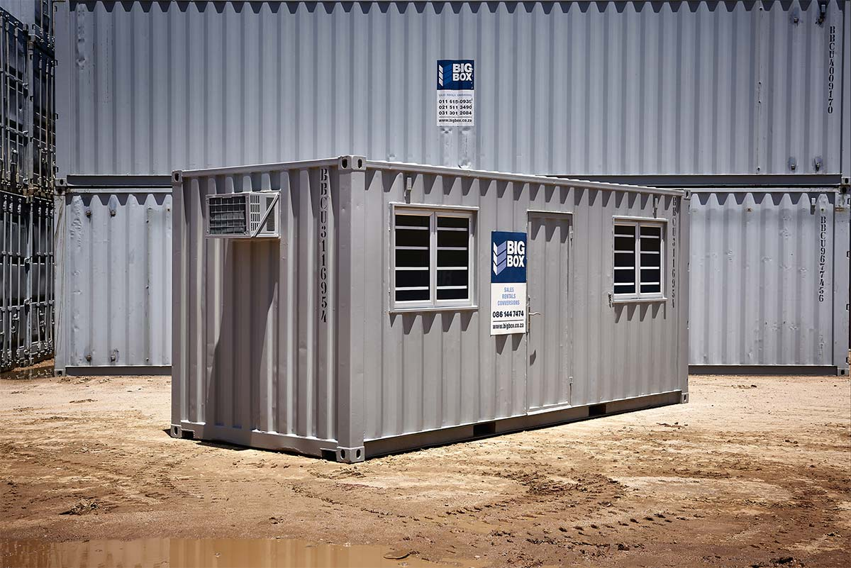 COST ESTIMATOR FOR 6-METER SHIPPING CONTAINER - Big Box ...