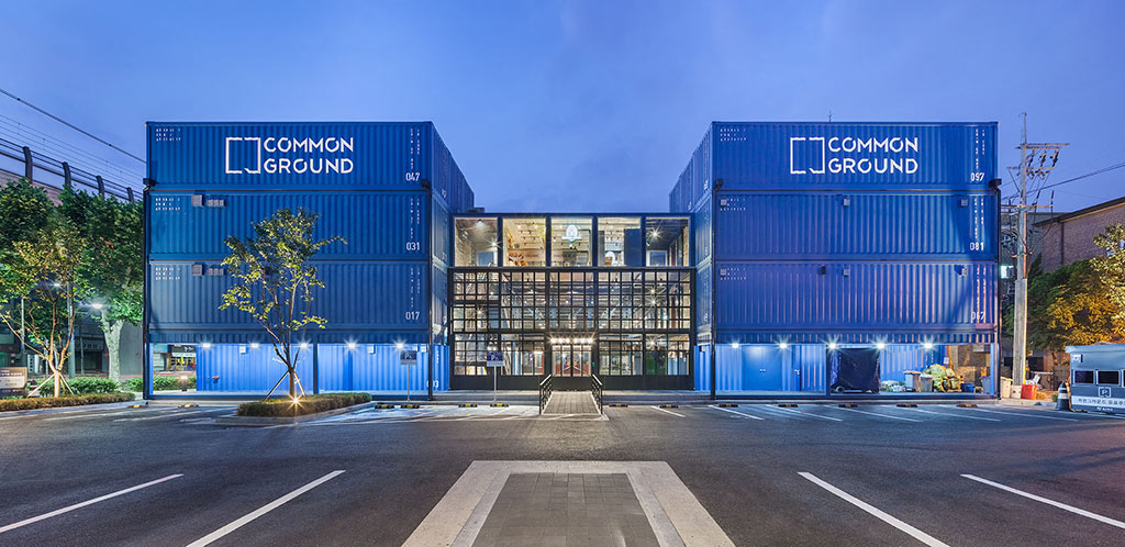 common ground Shipping Container Shopping Centre