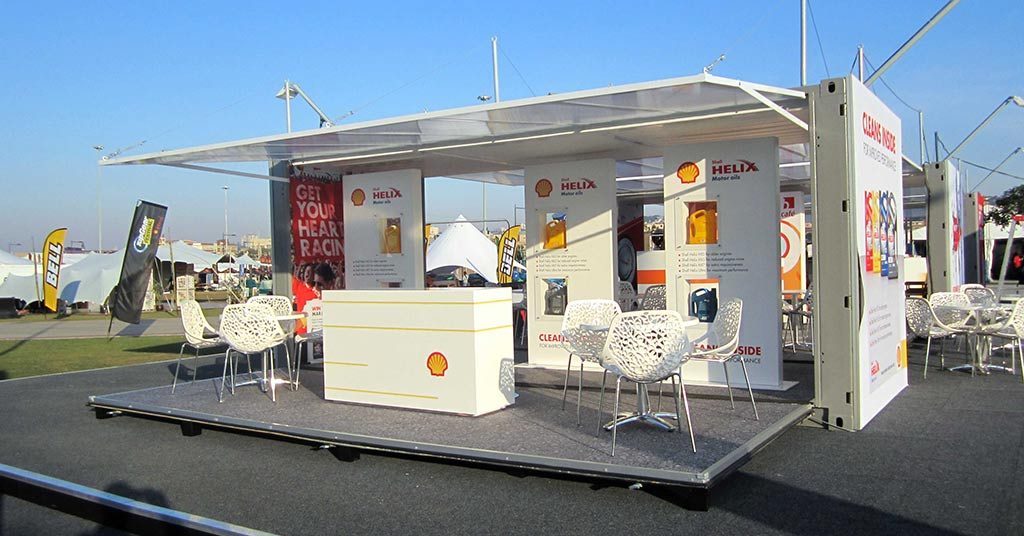 experiential marketing exhibition space