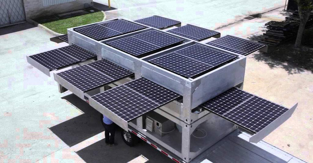 Solar containers