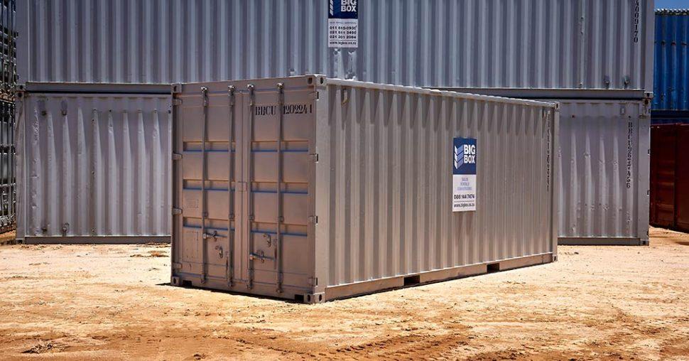standard steel container