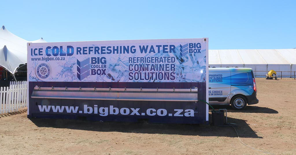 big box water container
