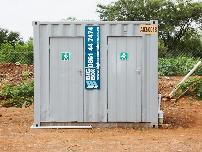 ablution containers for rent