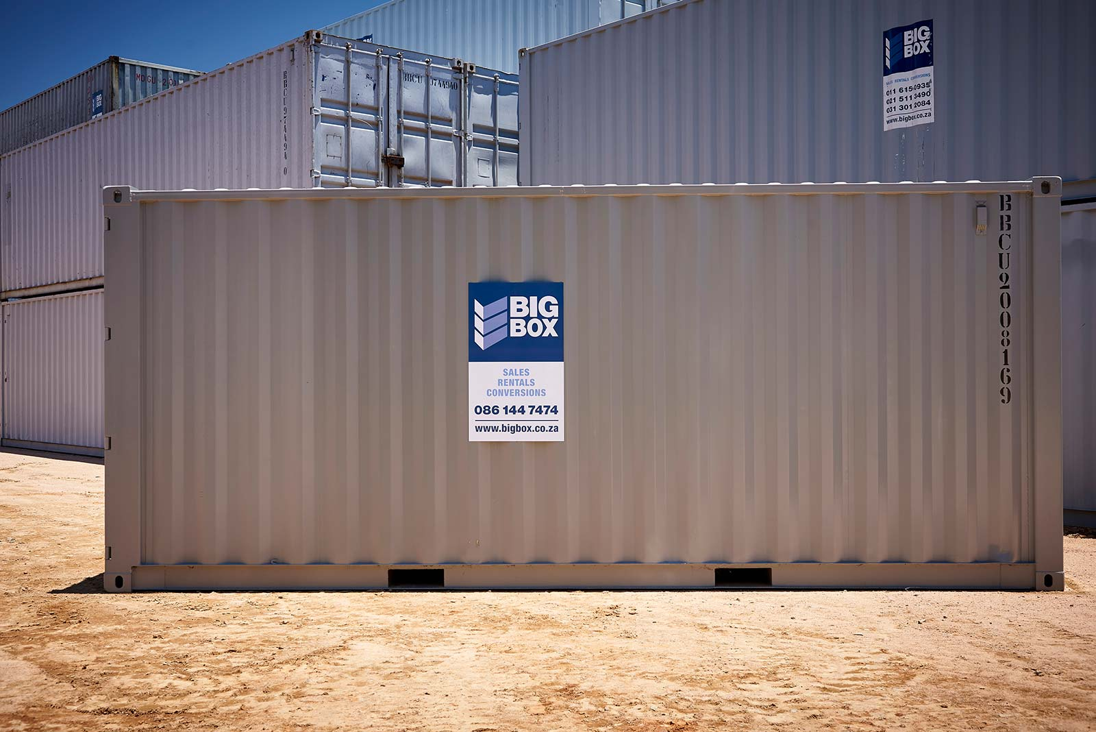 6m Steel Dry Cargo Containers
