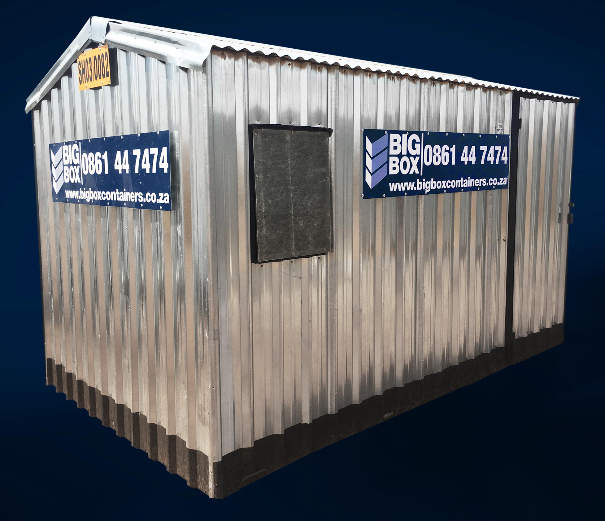construction site sheds