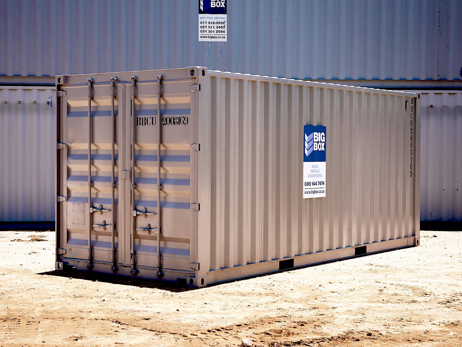 steel container